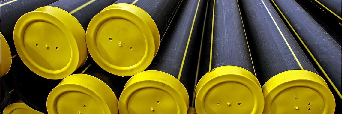 Трубы ПЭ газопроводные